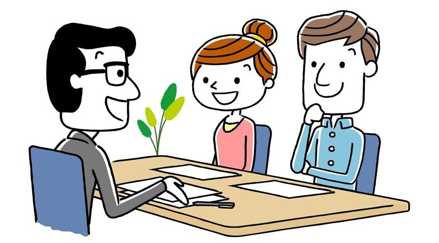 契約場面のイメージ画像