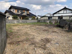 売土地の写真